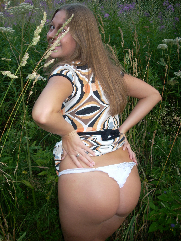 Пухленькие девушки секс на природе 9 фотография