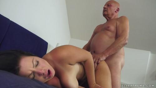 Grandpa fucks young granddaughter